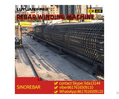 Cnc Rebar Cage Winding Machine