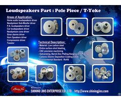 T Yoke Speakers Part Made In Taiwan