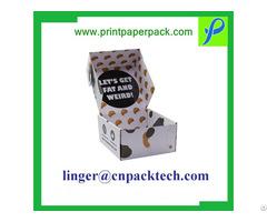 Customized Cardboard Offset Printing Flip Product Display Box