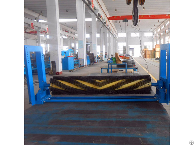 Electric Rotary Brush Cleaner For Belt Conveyor