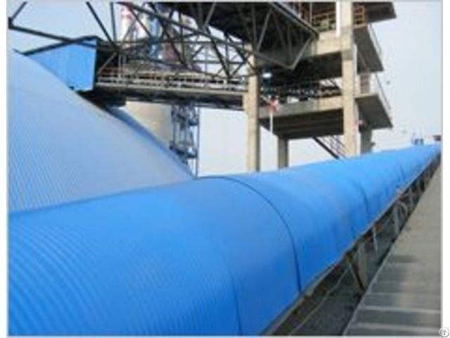 Stainless Steel Anti Rain Cover For Belt Conveyor