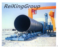 Steel Pipe Rust Removing Machine