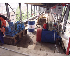 Hydraulic Tensioner Device With Low Vibration For Belt Conveyor