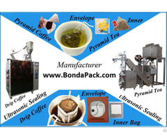 Biodegradable Pla Nonwoven Pyramid Tea Bag Packaging Machine