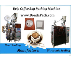 Pour Over Drip Coffee Bag Packaging Machine