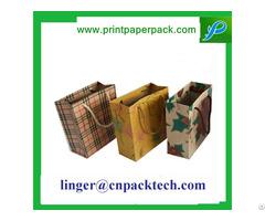 Bespoke High Quality Kraft Paper Handle Bag