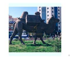 Customize Bronze Camel Sculpture For Garden Decor