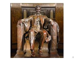 American Lincoln Memorial Bronze Statue