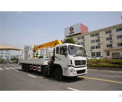 8x4 16 Ton Straight Arm Truck Mounted Crane
