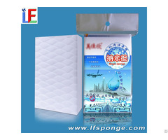 Aircraft Interior Cleaning Compressed Melamine Sponge Not Damage Surface Of Aviation