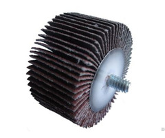 Flap Wheel With Male Thread Shaft