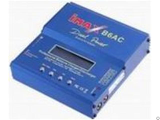 Imaxb6ac Rc Model Balance Charger Lipo Life Nimh Battery