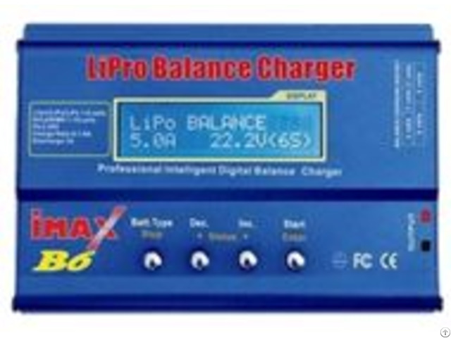 Imaxb6 Ac Dc Charger For Rc Toy Car Lipo Life Limh Battery