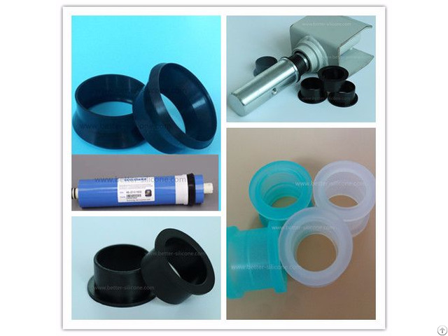 Custom Molded Silicone Rubber Tubing Sleeve