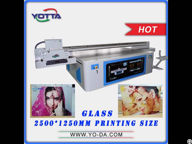 3d Effect Glass Printing Machine Yd2512 Rd Uv Printer