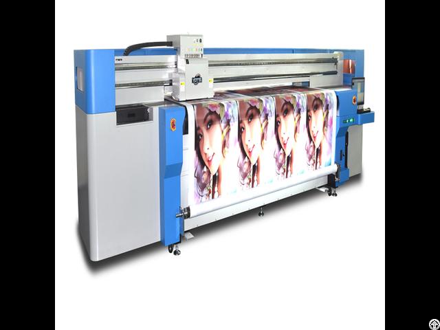 Advertisement Printing Machine Uv Hybrid Printer Yd2600 Rc