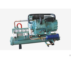 Gea Bock Low Temperature Water Cooled Condensing Unit