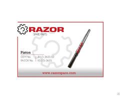 Piston 3115 3635 02 Razor Spare Parts