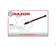 Shaft 3115 0821 00 Razor Spare Parts