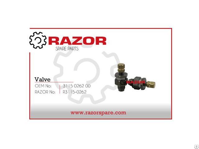 Valve 3115 0262 00 Razor Spare Parts