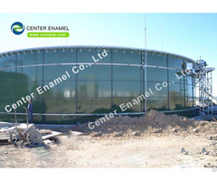 Customized Glass Fused To Steel Anaerobic Digester Tank With Super Corrosion Resistance