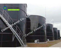 Anaerobic Digestion Tanks For Wastewater Treatment Plant