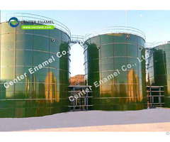 Blue Anaerobic Digester Tank With Double Membrane