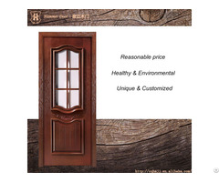 Hammer Fueniture Kitchen Entrance Door With Glass And Solid Wood Design
