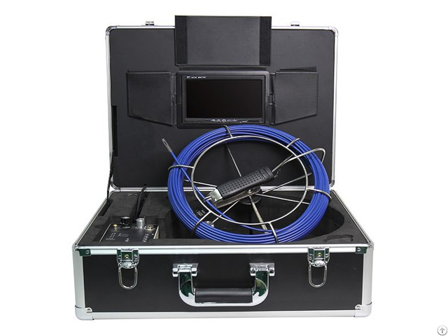 Push Rod Cable Camera System For Sewer Inspection Detector