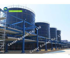 Cost Effective Stainless Steel Bolted Tanks For Industrial Wastewater Treatment Projects