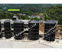 Stainless Steel Bolted Water Storage Tanks For Farm Irrigation