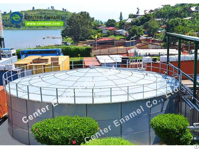 Stainless Steel Liquid Storage Tanks For Industrial Wastewater Treatment Plant