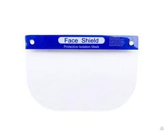 Wholesale Personal Protective Equipment Pet Plastic Face Shield