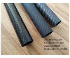 Twill Weave Glossy Matte Sanded Carbon Fiber Tubes Frames For Kite Bone Tools Toys