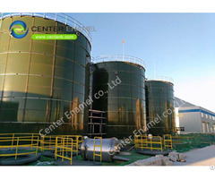 Water Storage Tanks For Waste To Energy Technologies With Enamel Roof