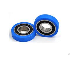 Pu600450 12 Pu Roller Bearing For Inspection Machines 20x50x12mm