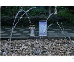 Interesting Laminar Jet Fountain