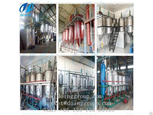 Palm Oil Mill Refining Methods