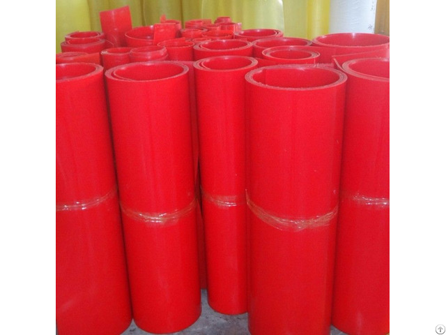 Red Color 65a 75a 85a 90a 95a Casting Polyurethane Pu Sheets Supplier From China