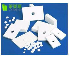 High Temperature Precision White Insulating Alumina Ceramic