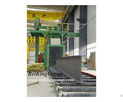 Structural Steel Through Shot Blasting Machine