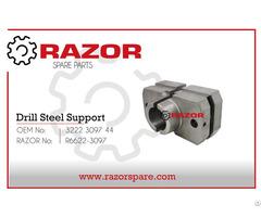 Drill Steel Support 3222 3097 44 Razor Spare Parts