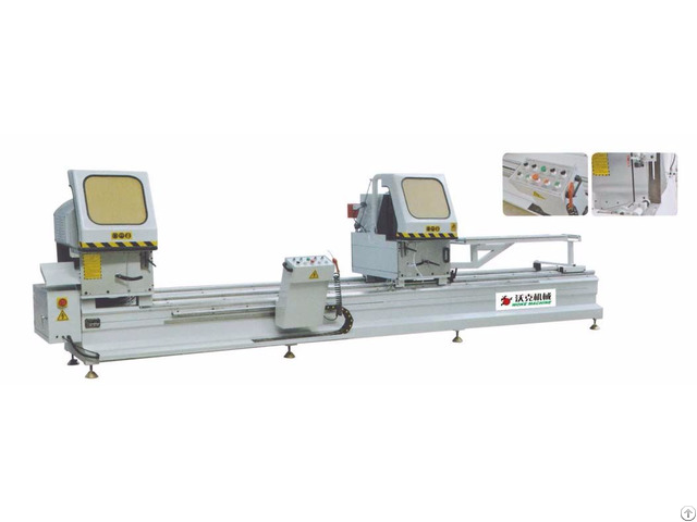 Aluminum Profile Double Head Cutting Machine