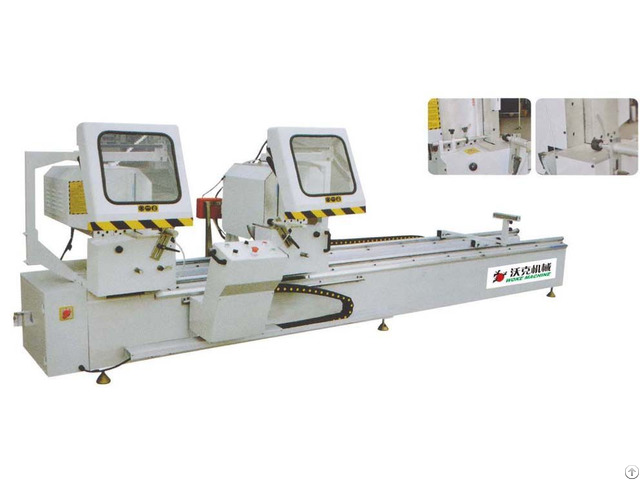 Double Head Cutting Saw Machine
