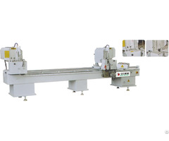 Double Head Cutting Saw For Aluminum Pvc Profile