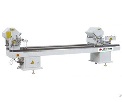 Aluminum Pvc Profile Double Head Cutting Saw Machine