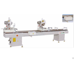 Aluminum Profile Double Head Cutting Saw Machine