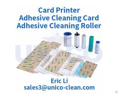Zebra Magicard Evolis Datacard Fargo Printer Adhesive Cleaning Card And Roller