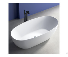 Acrylic Freestanding Bathtub High End China Sanitary Ware Manufacturer Bathroom Tub