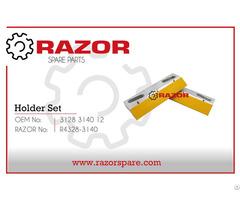Holder Set 3128 3140 12 Razor Spare Parts